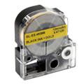 Compatible LK-4KBM Label Tape for Epson Printer (12mm Black on Gold)