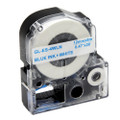Compatible LK-4WLN Label Tape for Epson Printer (12mm Blue on White)