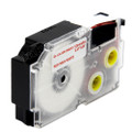 Compatible EZ-Label XR-12WER1 Label Tape Cartridge for Casio Label Printer (12mm Red on White)