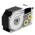 Compatible EZ-Label XR-24WE1 Label Tape Cartridge for Casio Label Printer (24mm Black on White)