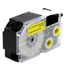 Compatible EZ-Label XR-24YW1 Label Tape Cartridge for Casio Label Printer (24mm Black on Yellow)