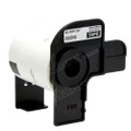 Compatible DK-11207 CD/DVD Film Label for Brother Printer (Black on White)