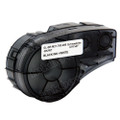 Compatible M21-750-488 Polyester Label Tape for Brady Label Printer (19.05mm Black on White)