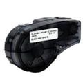 Compatible M21-750-499 Nylon Cloth Label Tape for Brady Label Printer (19.05mm Black on White)
