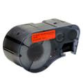Compatible MC-1500-595-RD-BK Vinyl Label Tape for Brady Label Printer (38.1mm Black on Red)