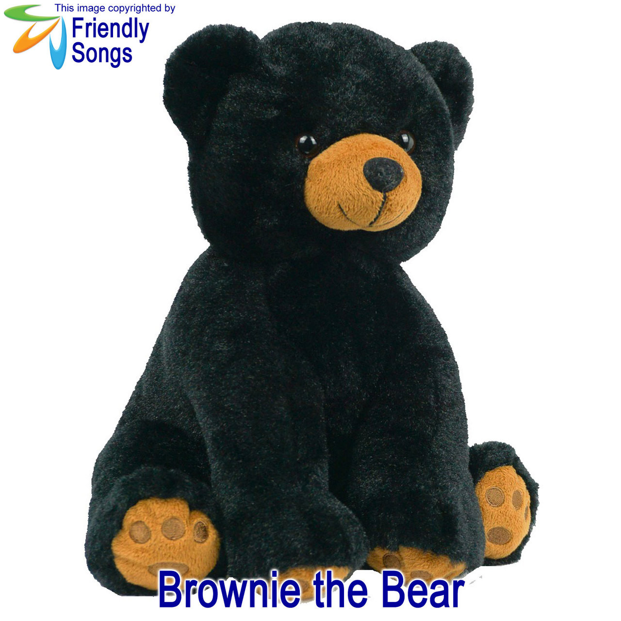 Brownie the Bear Personalized Stuffed Animal