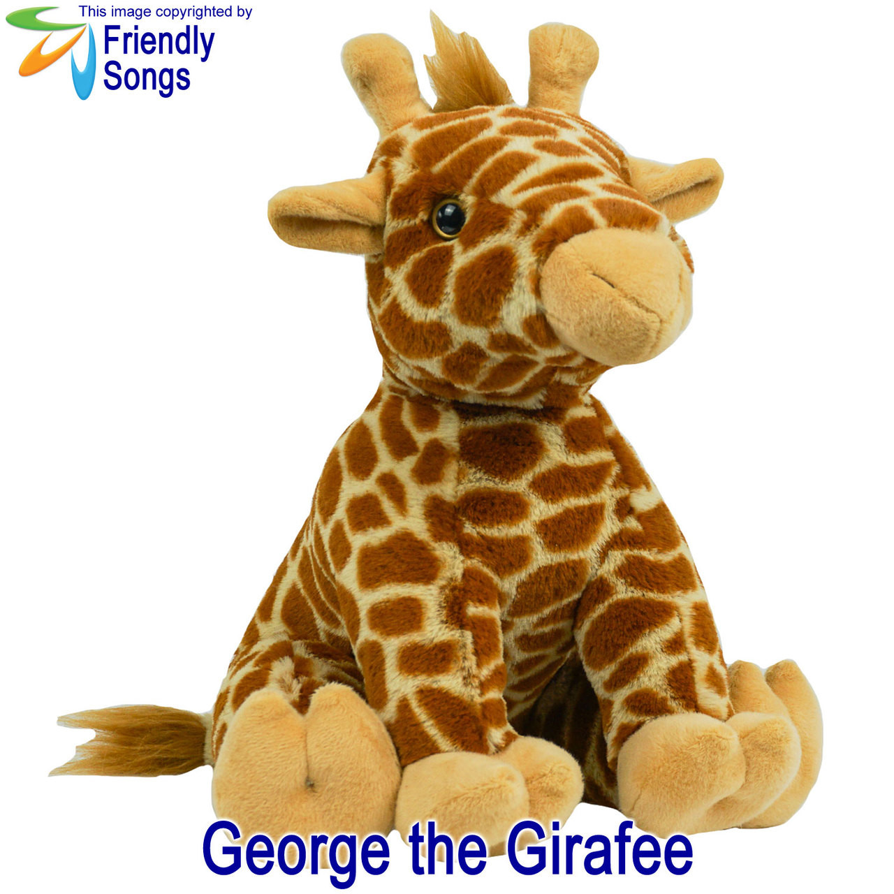 George the Giraffe Personalized Stuffed Animal