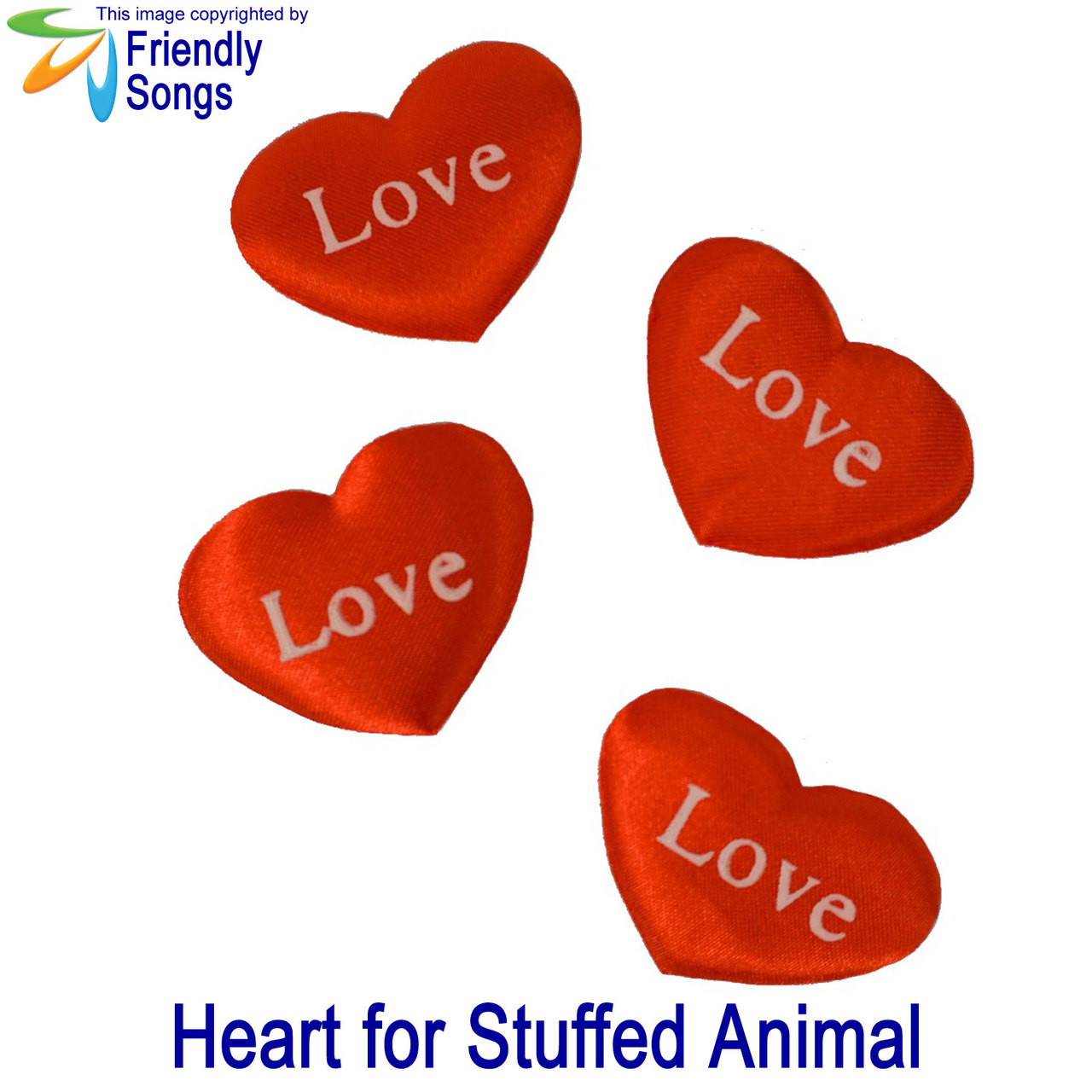 Love Heart for your Stuffed Animal