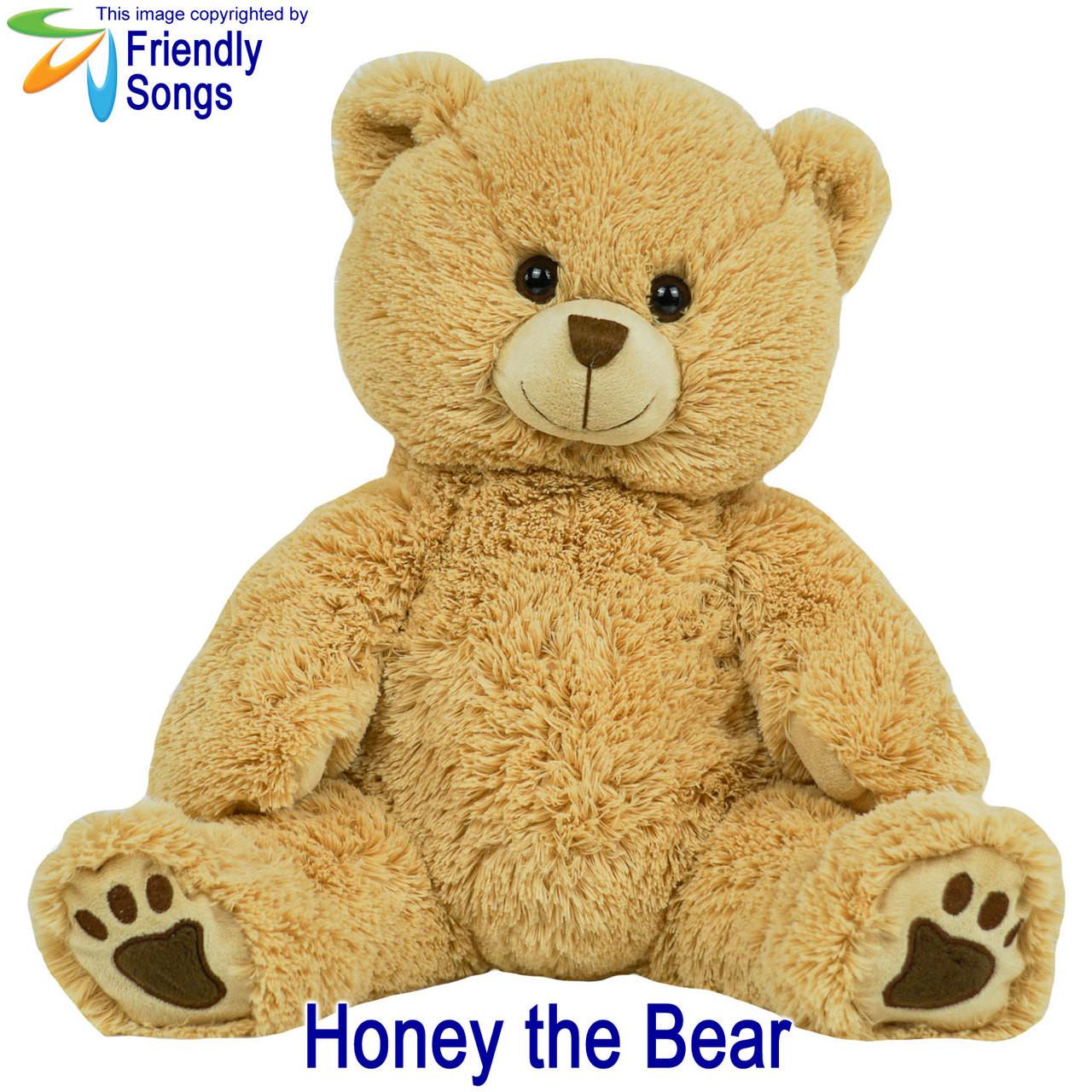 Honey the Bear Personalized Stuffed Animal