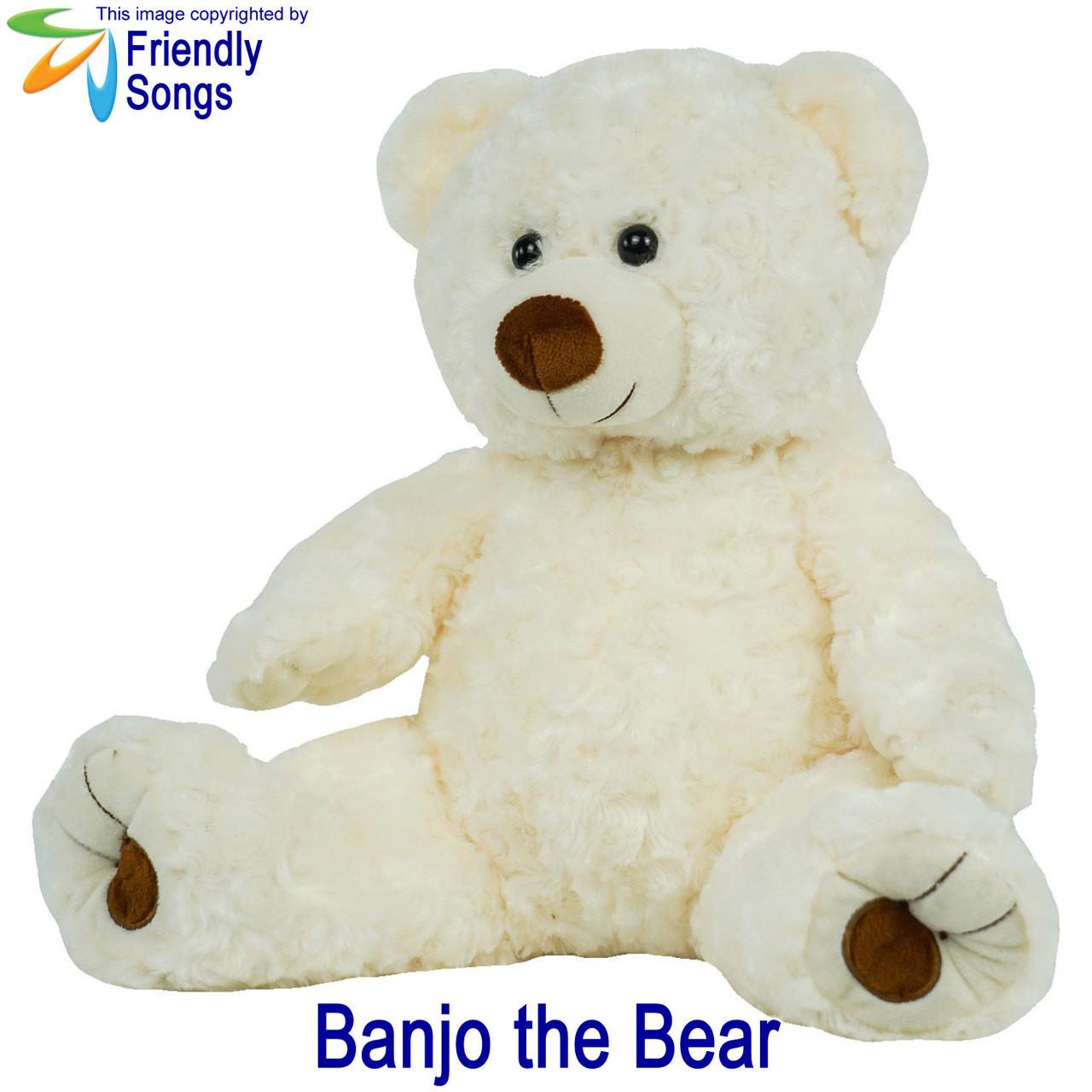 Banjo the Bear Personalized Stuffed Animal
