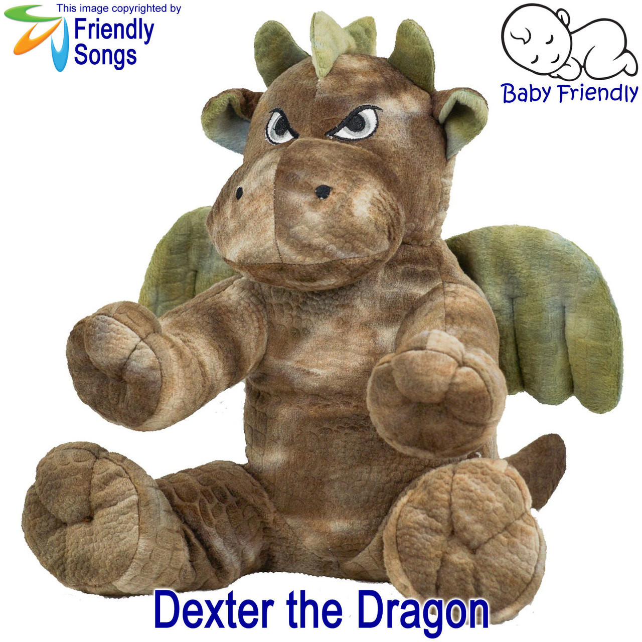 Dexter the Dragon Personalized Stuffed Animal