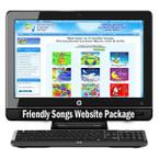 Friendly Songs Turn-Key Website