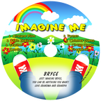 Imagine Me Personalized Kids Music CD