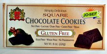 Josef's Gluten Free Chocolate Cookie Squares