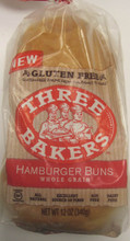 Three Bakers Whole Grain Hamburger Buns