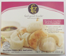 Feel Good Foods Asian Style Pork Dumplings