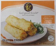 Feel Good Foods Chicken & Vegetable Egg Rolls