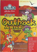 Orgran Chocolate Outback Animal Cookies