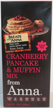 Breads From Anna Gluten Free Cranberry Pancake and Muffin Mix
