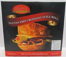 Celiac Specialties Gluten Free Plain Croissants 4 pack