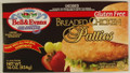 Bell & Evans Gluten Free Breaded Chicken Patties