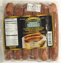 Blackwing Uncured Buffalo Hot Dogs