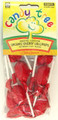 Candy Tree Cherry Lollipops
