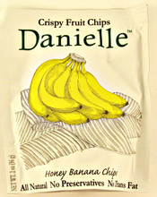 Danielle Honey Banana Crispy Fruit Chips