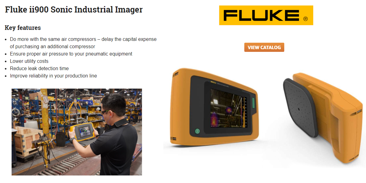 Click for great pricing on a Fluke ii900 Sonic Imager