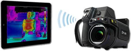 FLIR T-Series Infrared Camera Wi-Fi Transfer to Apple iPad