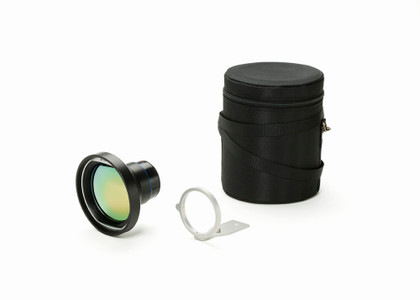 FLIR Lens (7°, f = 88.9mm) w/ Case and Mounting Support