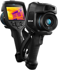 FLIR E85sc Advanced Thermal Camera w/MSX 384x288 Resolution/30Hz w/24° Lens with FLIR ResearchIR Max Software