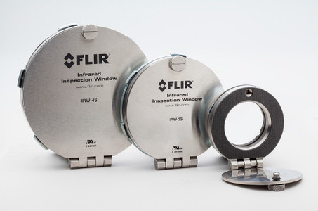FLIR IRW Stainless Steel IR Window 3""
