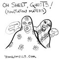 flowered sheet ghost wants candy