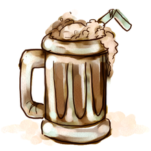 Ice Cream Soda Root Beer Float