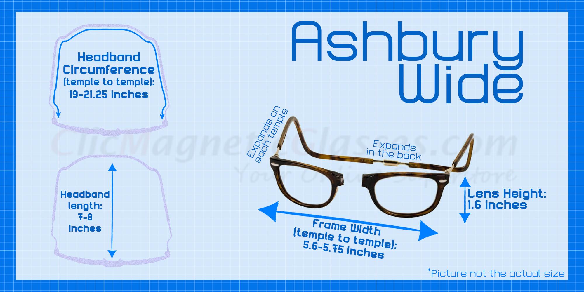 Clic Ashbury Wide Tortoise Polarized Bi-Focal Reading Sunglasses ...