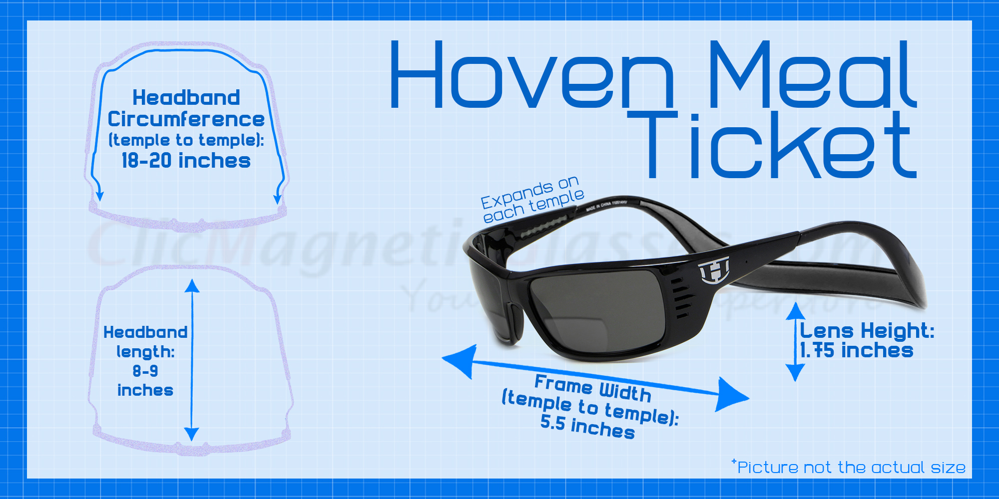 e54c974abea16 Hoven Eyewear Meal Ticket in Black Gloss with Red    Progressive ...