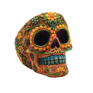 Sugar Skull Polyresin Ashtrays