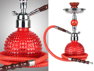 Crystal Ball Voodoo Hookah (red)