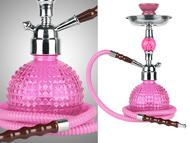Crystal Ball Voodoo Hookah (pink)
