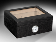 Humidor Traveler Glass Top 40ct