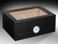 Humidor Traveler Glass Top 60ct