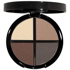 4 coordinated shadows - Multiple finishes - 1 convenient palette