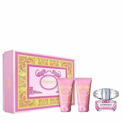 BRIGHT CRYSTAL/VERSACE SET (W) EDT SPRAY 1.7 OZ BODY LOTION 1.7 OZ SHOWER GEL 1.7 OZ IN GIFT BOX