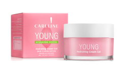 Careline Young Hydrating Cream gel Normal/Oily Skin, 50ml
