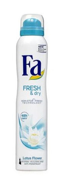 Fa Fresh & Dry Deodorant Spray, 200ml