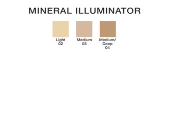 Mineral Illuminator color chart
