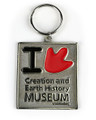 Creation and Earth History Museum Key Chain