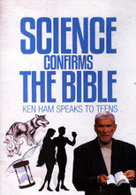"In just under an hour, you can tackle the biggest creation/evolution questions Ken Ham has been asked by teens. Featuring explanations to over a dozen ""hot topics,"" in this fast, illustrated presentation, Ham returns again and again to the original text and scientific discoveries to prove his points! Learn about DNA as evidence for the infinite God, the origin of so-called races, evidence for a worldwide Flood, the time of the Ice Age, dating methods, and more. Great for teens to learn to defend creationism! 12 & up. 58 minutes on DVD.   DVD Playable in Bermuda, Canada, United States and U.S. territories. Please check if your equipment can play DVDs coded for this region. Learn more about DVDs and Videos"