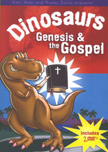 "What child isn't wild about dinosaurs? Ken Ham and singer/songwriter and ""paleo-sculptor"" Buddy Davis combine laughter, music, pictures, and Scripture to show that God created all animals---even Tyrannosaurus rex! Kids learn about the earth's age, the ""Seven Cs of History,"" dinosaurs in the Bible, fossils, and more. Includes discussion guide. Ages 4 to 10. Two DVDs, 30 minutes each.   DVD playable in all regions."